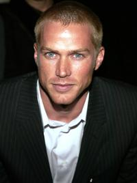 Jason Lewis at the Calvin Klein Fall 2004 Fashion show during the Olympus Fashion week.
