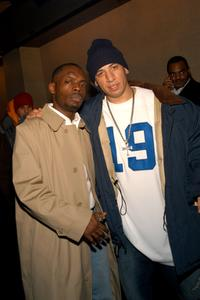 Bonz Malone and Kid Capri at the premiere of