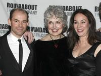 Daniel Evans, Mary Beth Peil and Jessica Molaskey at the after party of the opening night of