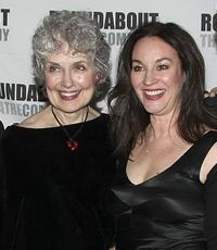 Mary Beth Peil and Jessica Molaskey at the after party of the opening night of