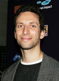 Ben Shenkman at the after party of the 24 Hour Plays benefit.