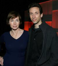 Julianne Nicholson and Ben Shenkman at the screening of