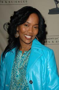 Sonja Sohn at the Academy of Television Arts & Sciences.