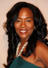 Sonja Sohn at the Academy of Television Arts & Sciences and the Writers Peer Group Emmy nominee party.