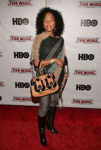 Sonja Sohn at the premiere of