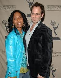 Sonja Sohn and her husband Adam Plack at the event marking the fourth season of