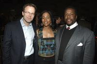 Tom McCarthy, Sonja Sohn and Wendell Pierce at the after party of the premiere of