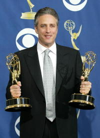 Jon Stewart at the 57th Annual Emmy Awards.