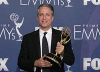 Jon Stewart at the 59th Annual Emmy Awards.