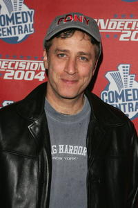 Jon Stewart at the Comedy Central Election night party.