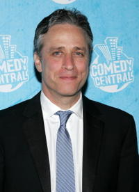 Jon Stewart at the Comedy Central Emmy Party.