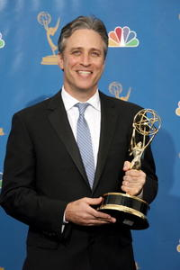 Jon Stewart at the 58th Annual Primetime Emmy Awards.