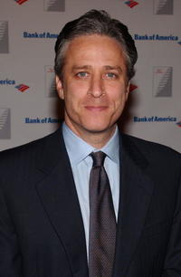 Jon Stewart at the Quill Book Awards.