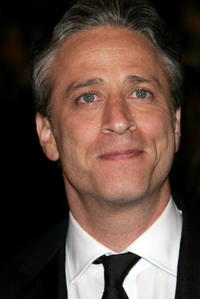 Jon Stewart at the Vanity Fair Oscar Party.