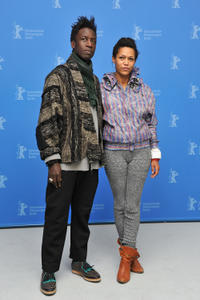 Saul Williams and Anisia Uzeyman at the photocall of