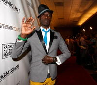 Saul Williams at the premiere of