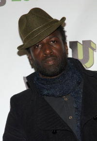 Saul Williams at the mtvU Woodie Awards.