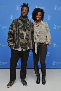 Saul Williams and Aissa Maiga at the photocall of
