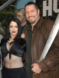 Ivonna Cadaver and Ken Kirzinger at the DVD release of