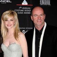 Kathryn Morris and John Finn at the Costume Designers Guild Awards.