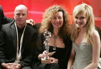 John Finn, Jill Taylor and Kathryn Morris at the 7th Annual Costume Guild Awards.