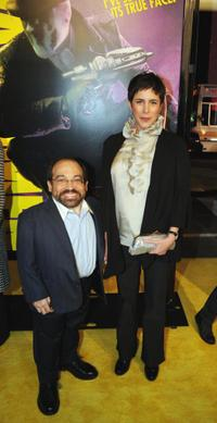 Danny Woodburn and Amy Buchwald at the premiere of