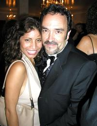 Norma Muniz and Daniel Zacapa at the after party of the 2002 Alma Awards.