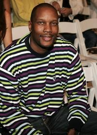 Dwayne Adway at the Kelly Nishimoto Fall 2006 show during the Mercedes Benz Fashion Week.