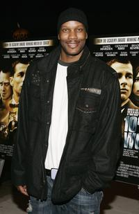 Dwayne Adway at the premiere of