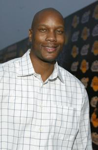Dwayne Adway at the 1st Annual Palms Casino Royale to benefit the Los Angeles Lakers Youth Foundation.