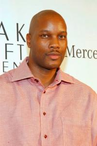 Dwayne Adway at the Mercedes Benz Fashion Week Kick Off Party.