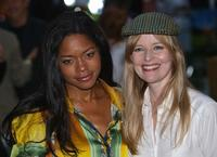Naomie Harris and Lucy Akhurst at the premiere of