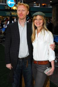 Chaz Oldham and Lucy Akhurst at the UK premiere of