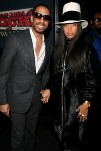 Ryan Leslie and Erykah Badu at the 3rd Annual Black Girls Rock! Awards.