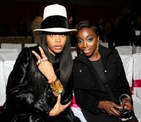 Erykah Badu and Estelle at the 3rd Annual Black Girls Rock! Awards.