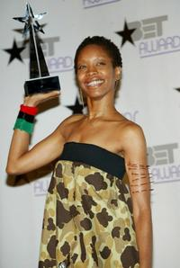 Erykah Badu at the 3rd Annual BET Awards Show.