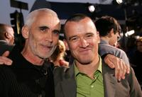 Director Lee Tamahori and John G. Connolly at the premiere of
