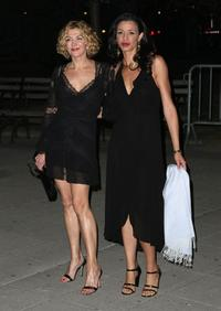 Natasha Richardson and Drena De Niro at the Vanity Fair party during the 2008 Tribeca Film Festival.