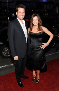 Alexis Denisof and Alyson Hannigan at the People's Choice Awards 2010 in California.