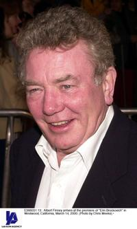 Albert Finney at the California premiere of