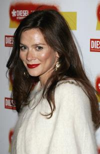 Anna Friel at the Diesel U-Music Awards.