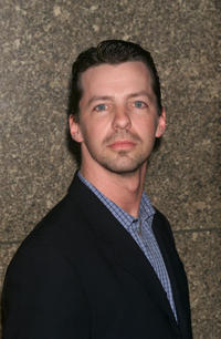 Sean Hayes at the NBC upfront.