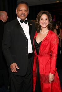 Jesse Jackson and Soledad O'Brien at the opening night gala celebrating Alvin Ailey American Dance Theater's 50th anniversary.