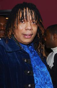 Rick James at the ABC My Wife and Kids' Party.