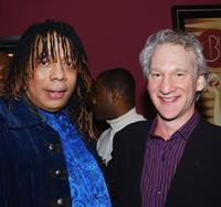 Rick James and Bill Maher at the ABC My Wife and Kids' Party.