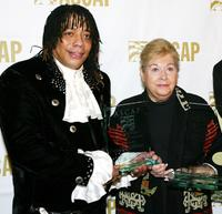 Rick James and Marilyn Bergman at the ASCAP's 17th Annual Rhythm & Soul Music Awards.