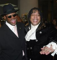 Jimmy Jam and Rick James at the ASCAP's 17th Annual Rhythm & Soul Music Awards.