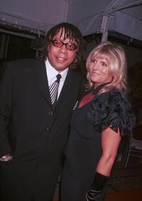 Rick James and Guest at the 2001 Millennium New Year's Eve Bash.