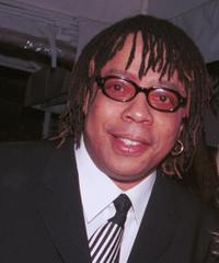 Rick James at the 2001 Millennium New Year's Eve Bash.