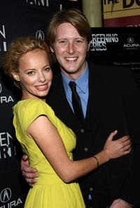 Bijou Phillips and Gabriel Mann at the premiere of